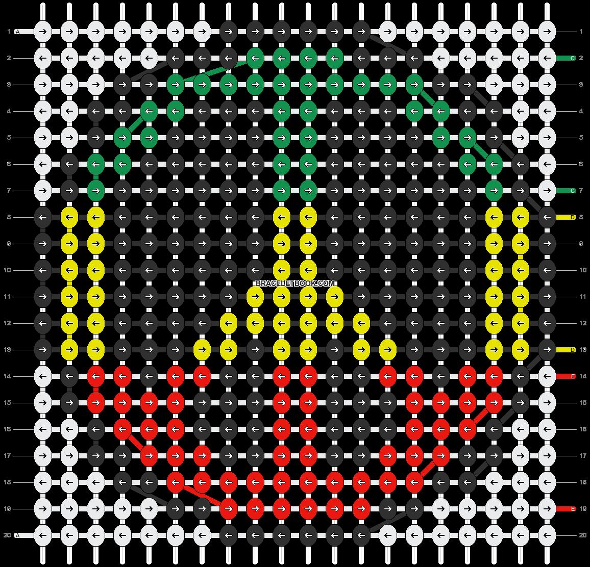 Alpha pattern #3588 pattern