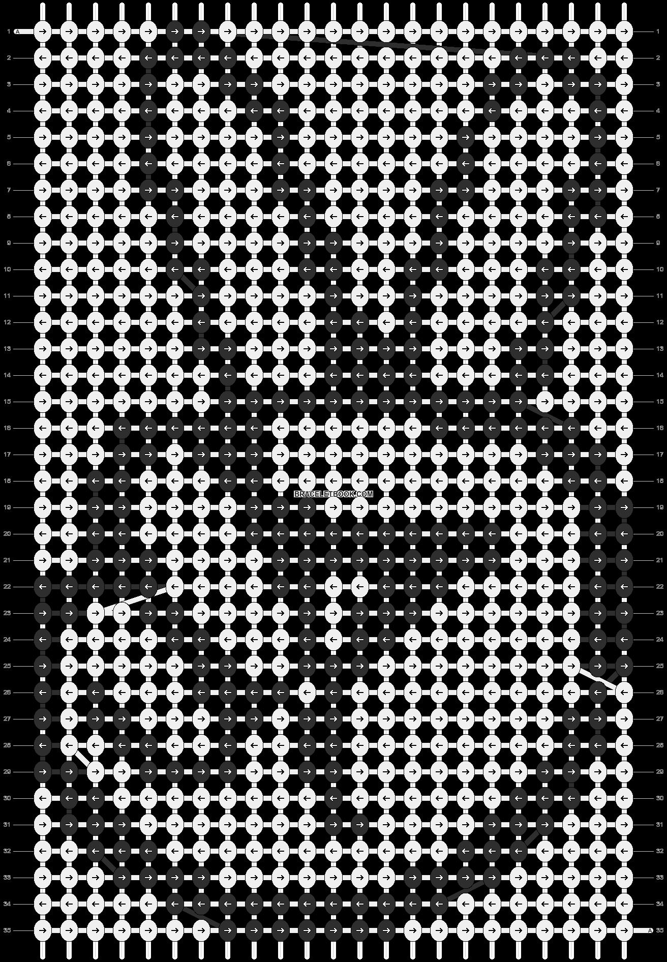 Alpha pattern #3590 pattern