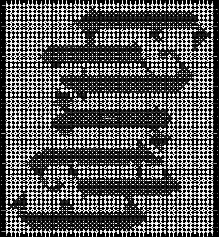 Alpha pattern #3595 pattern