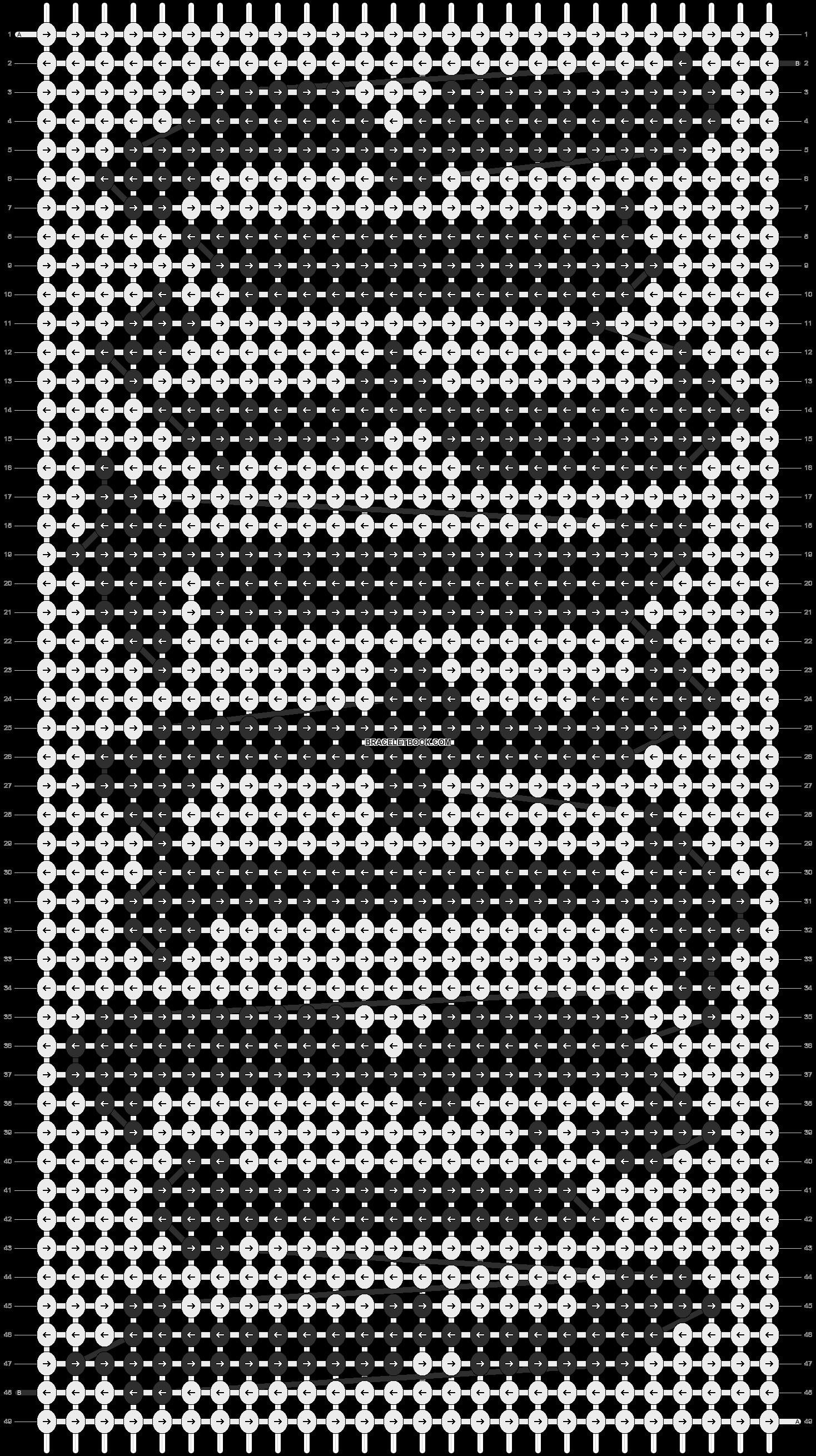 Alpha pattern #3596 pattern