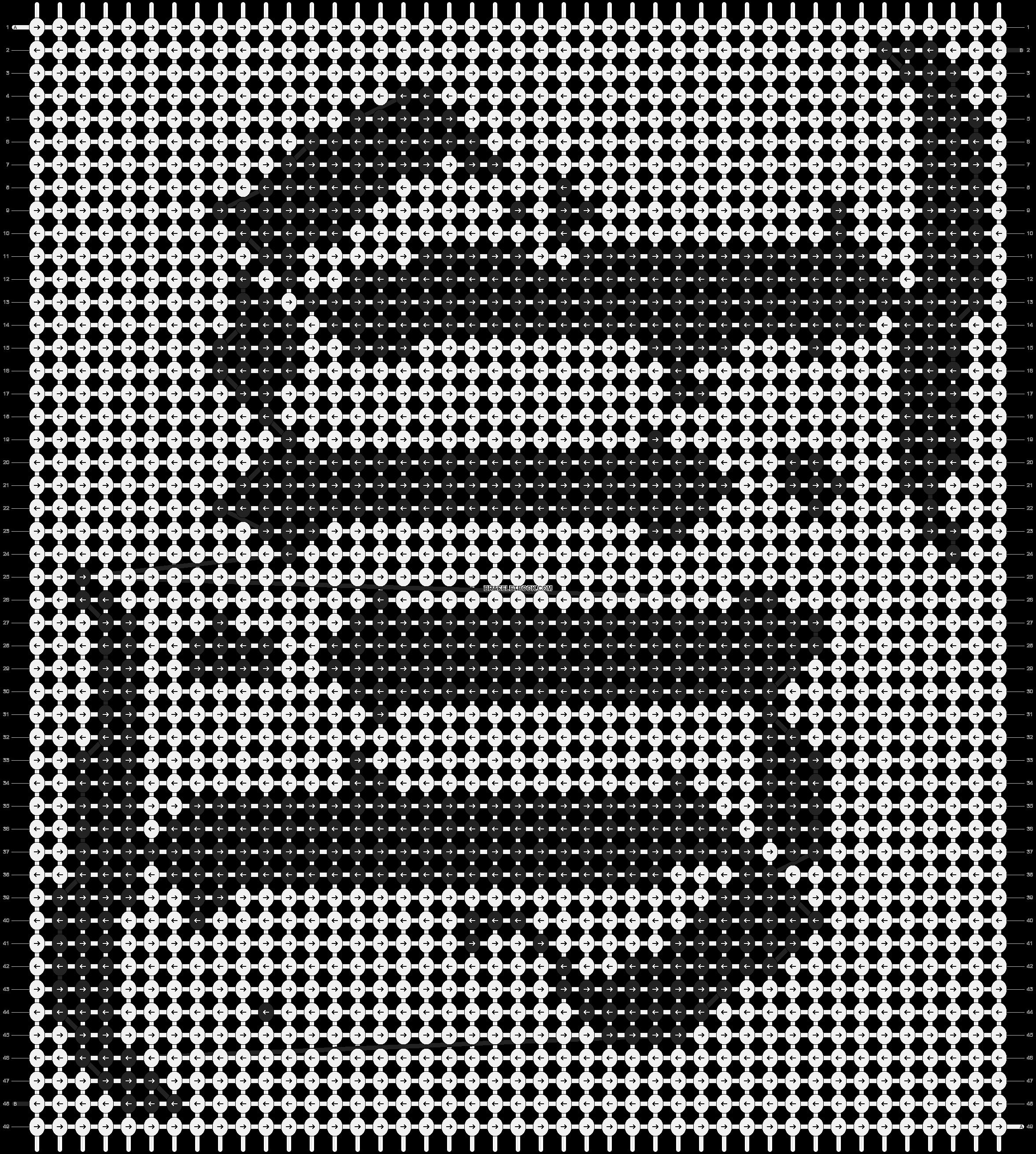 Alpha pattern #3598 pattern