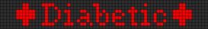 Alpha Friendship Bracelet Pattern #3606
