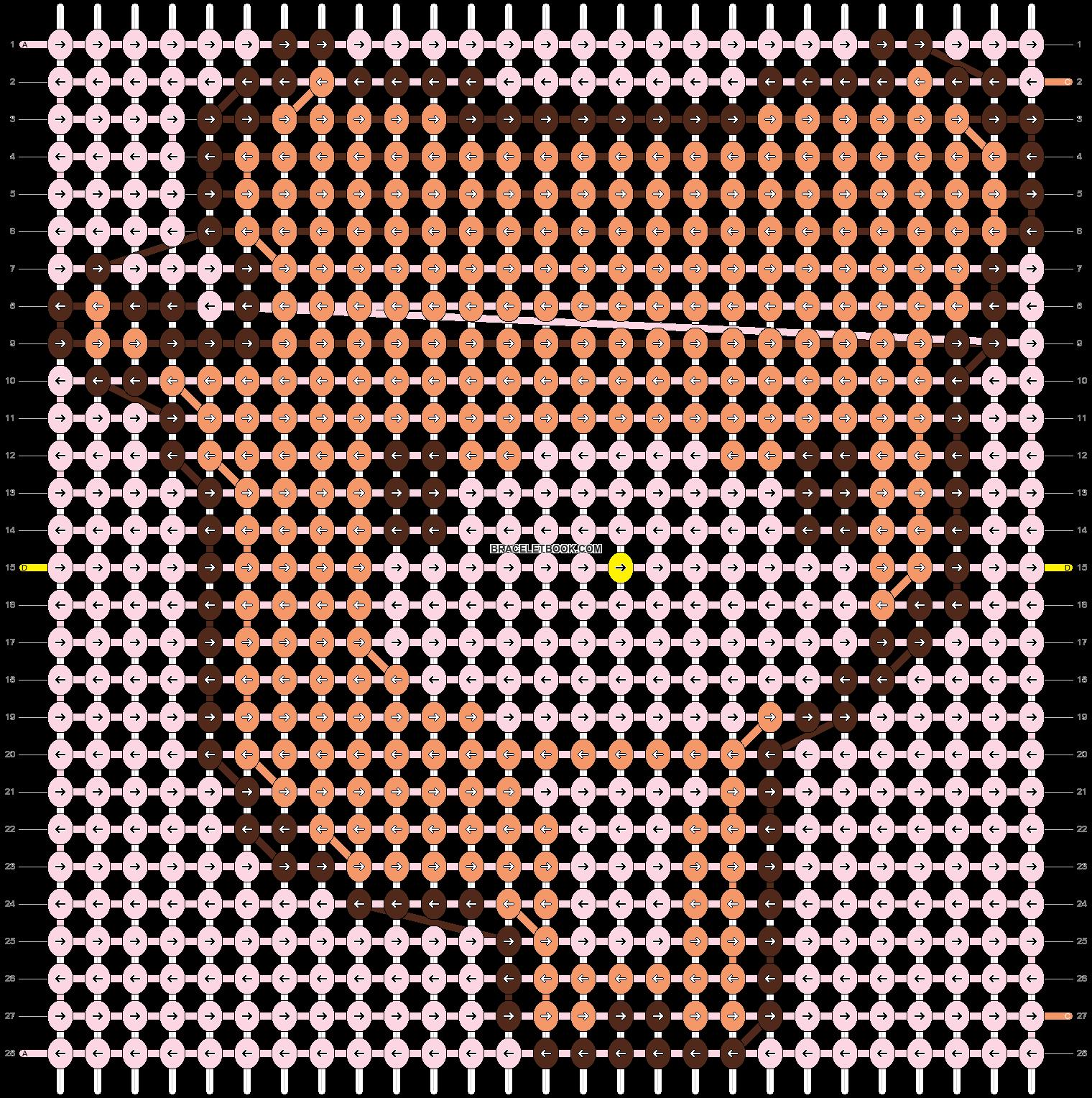 Alpha pattern #3612 pattern
