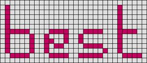 Alpha pattern #3618