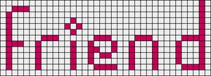 Alpha pattern #3621