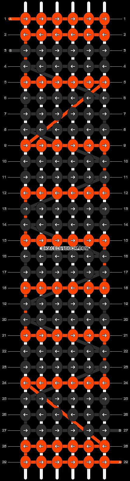 Alpha pattern #3629 pattern