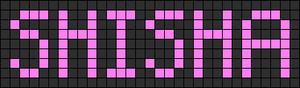 Alpha pattern #3632