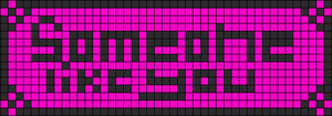 Alpha pattern #3635