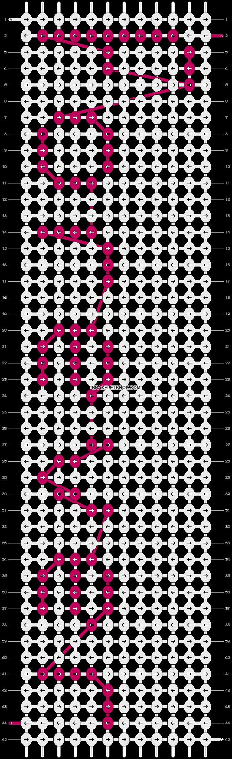 Alpha pattern #3638 pattern