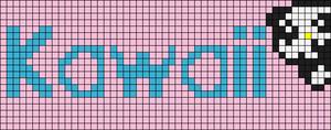 Alpha Friendship Bracelet Pattern #3641