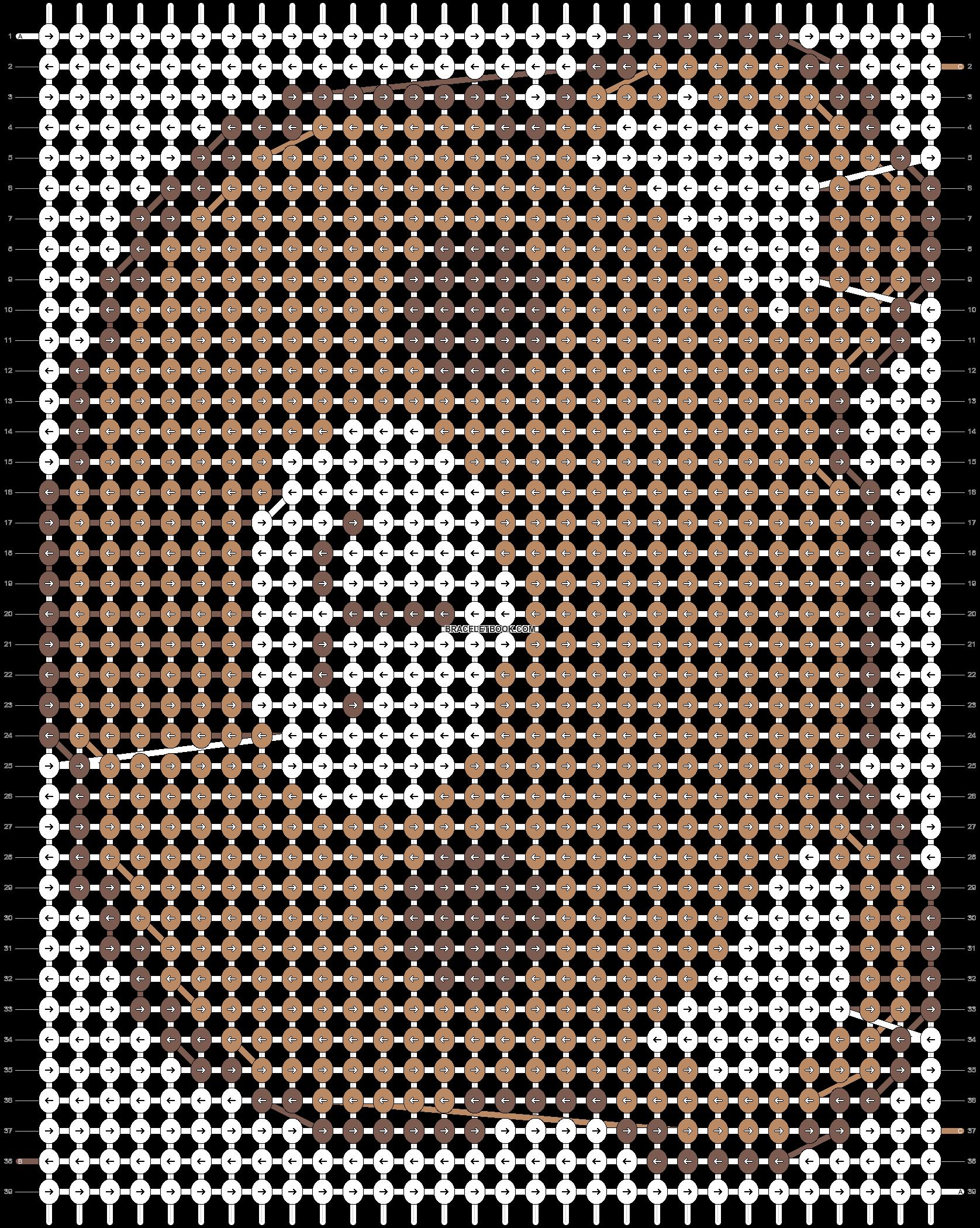 Alpha pattern #3644 pattern
