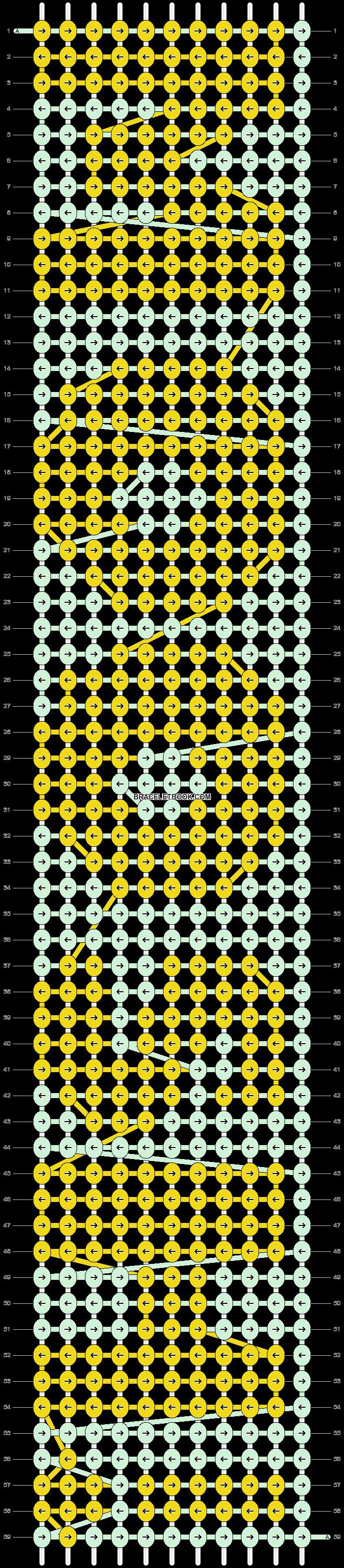 Alpha pattern #3650 pattern