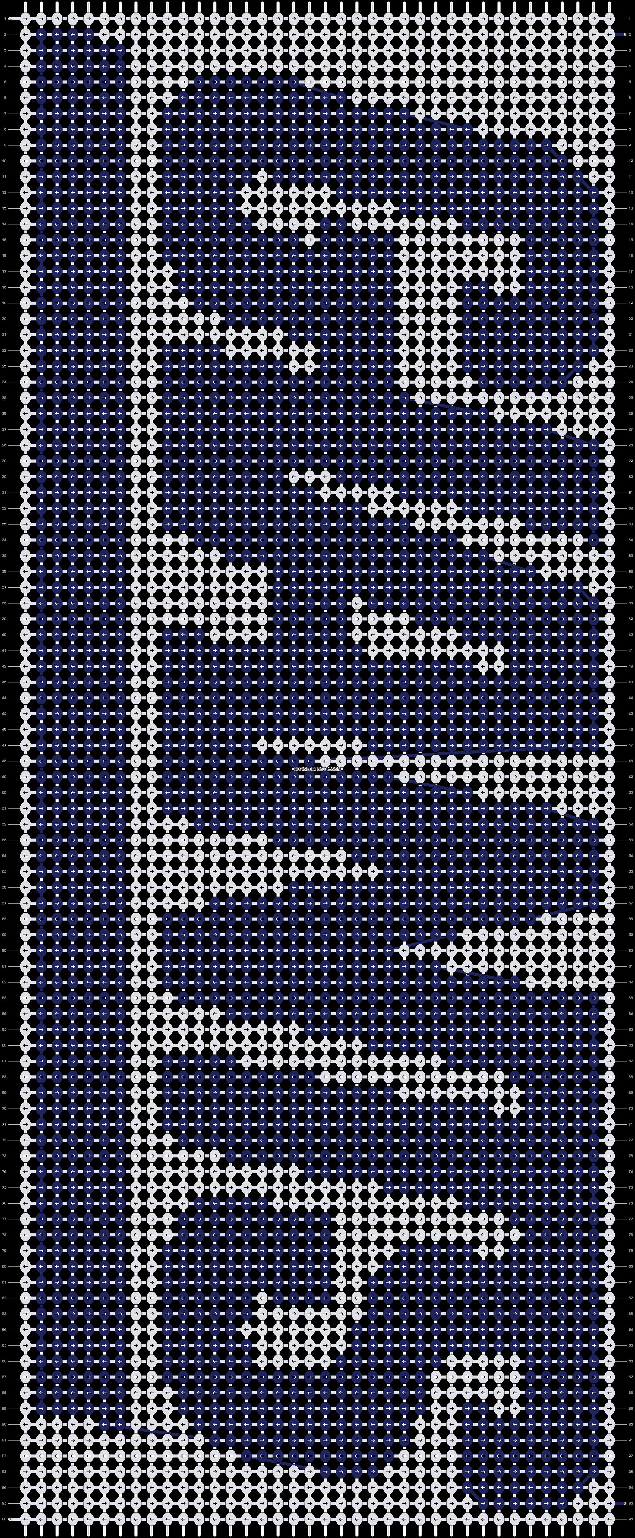 Alpha pattern #3654 pattern