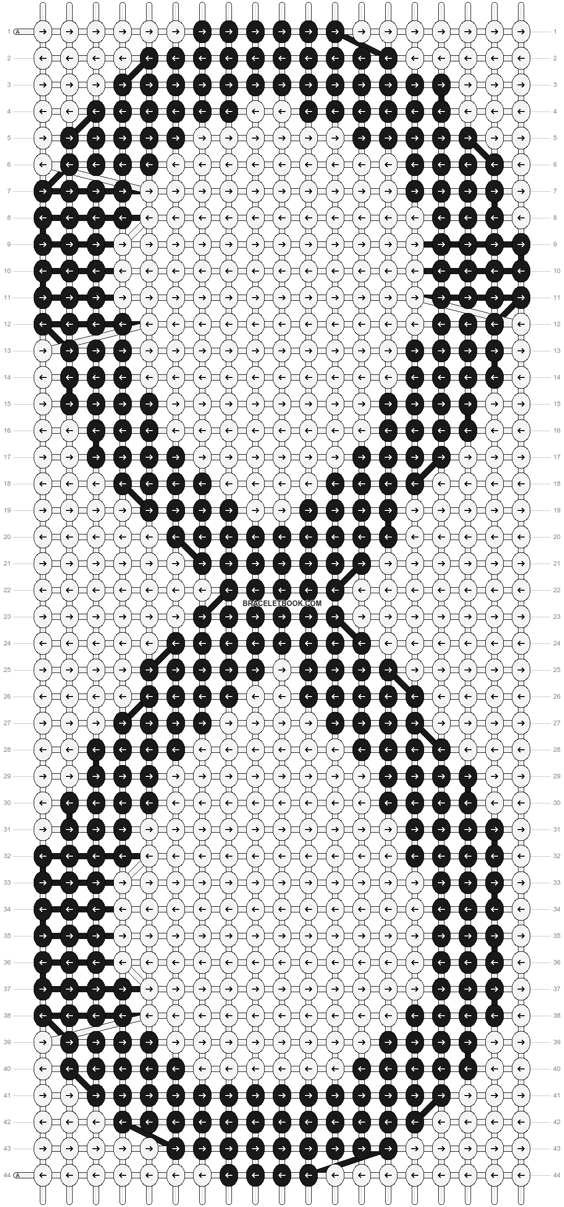 Alpha pattern #3655 pattern
