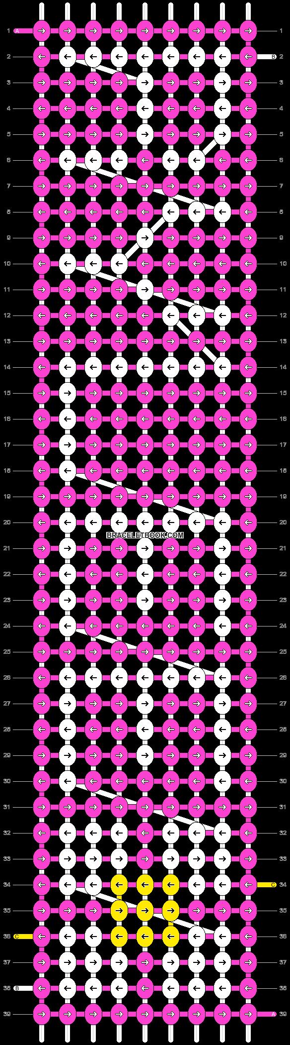 Alpha pattern #3657 pattern