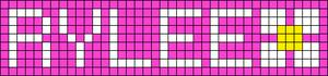 Alpha Friendship Bracelet Pattern #3657