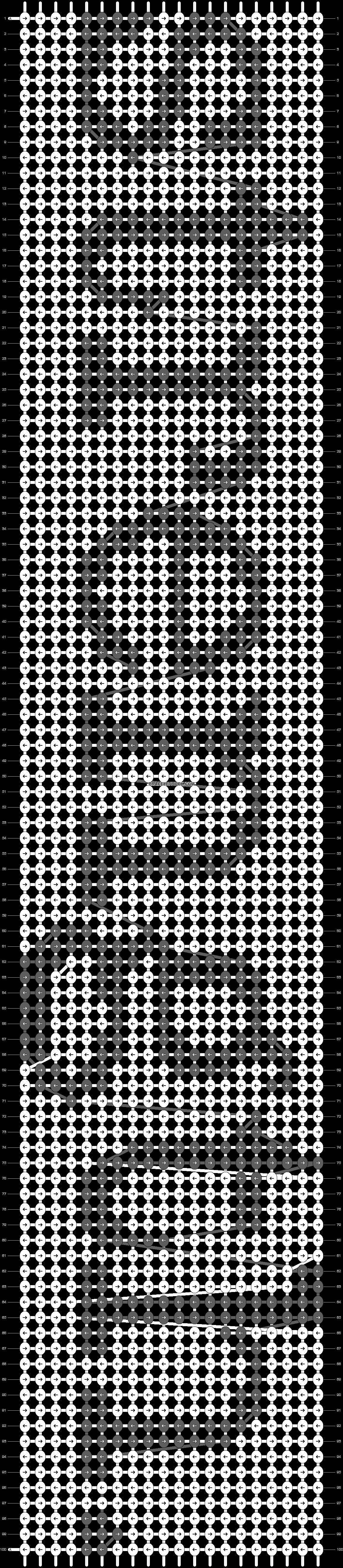 Alpha pattern #3659 pattern