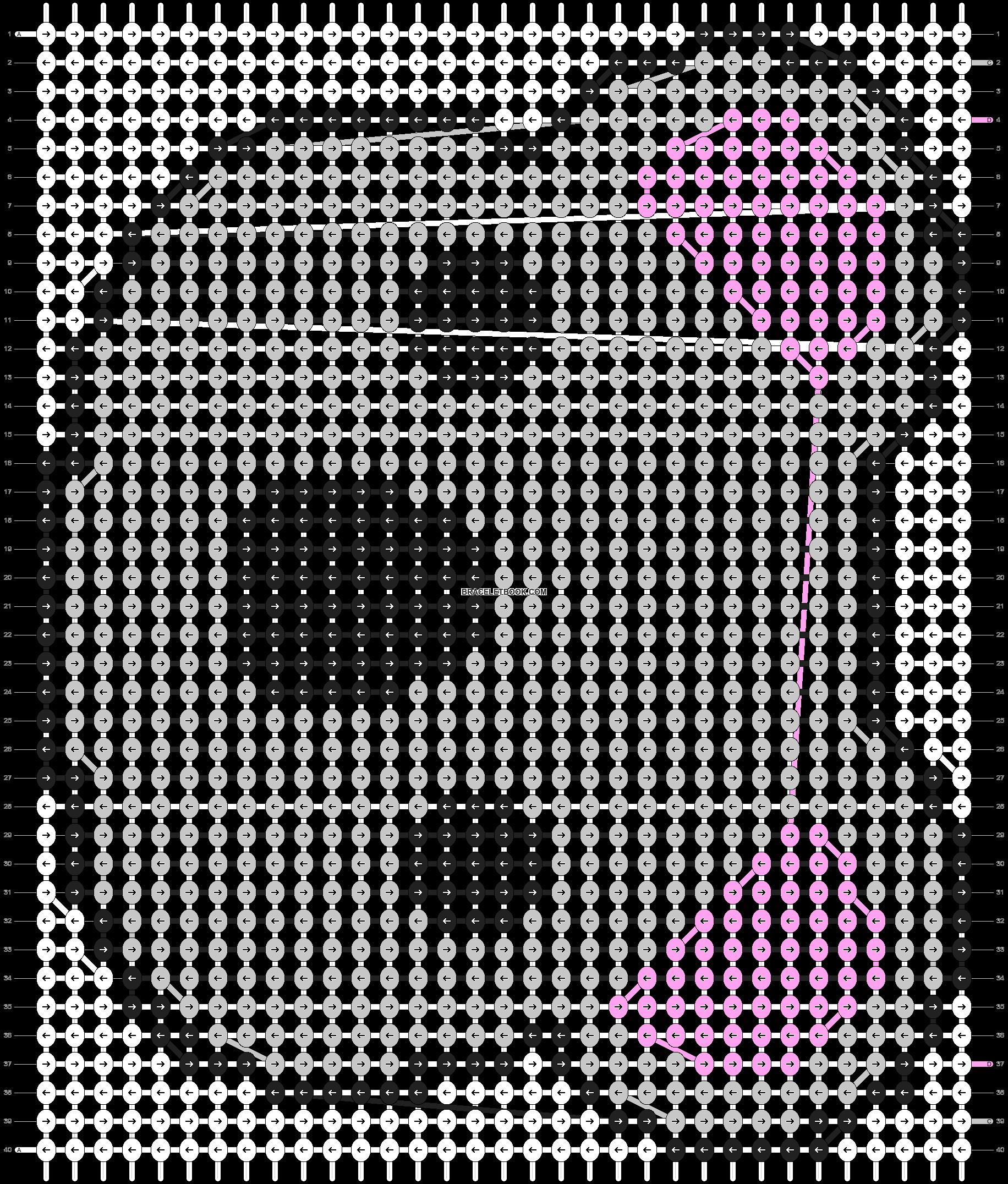 Alpha pattern #3661 pattern