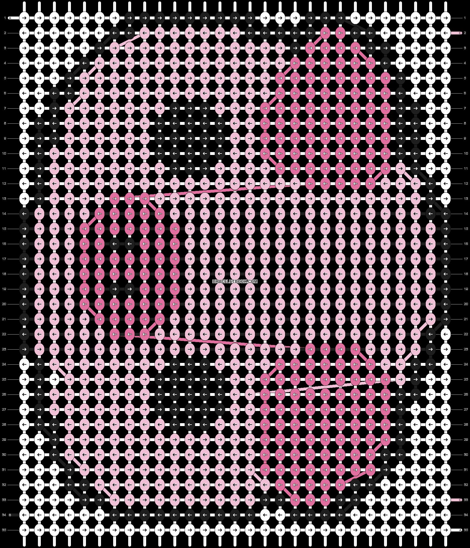 Alpha pattern #3663 pattern