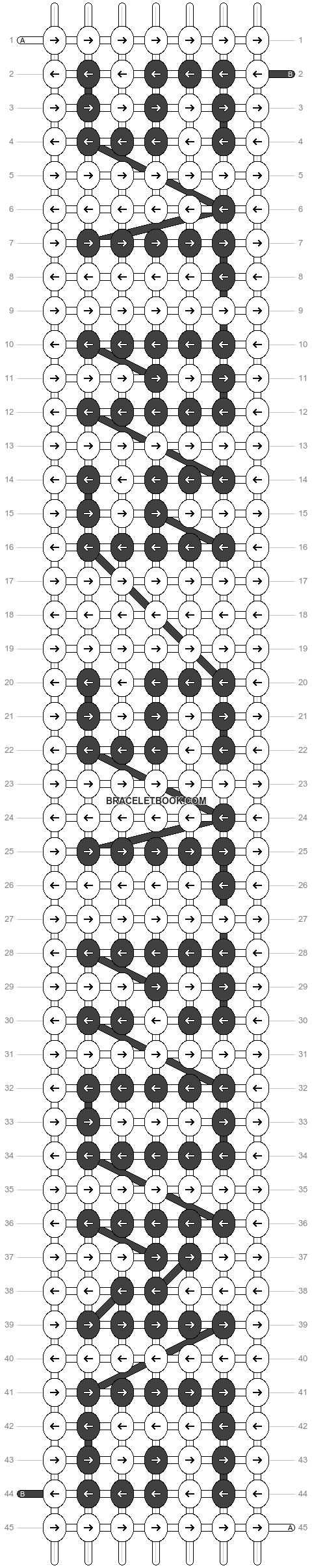 Alpha pattern #3665 pattern