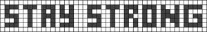 Alpha pattern #3665