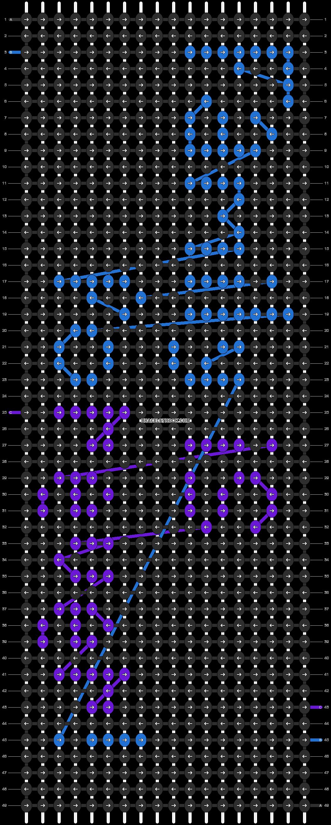 Alpha pattern #3677 pattern