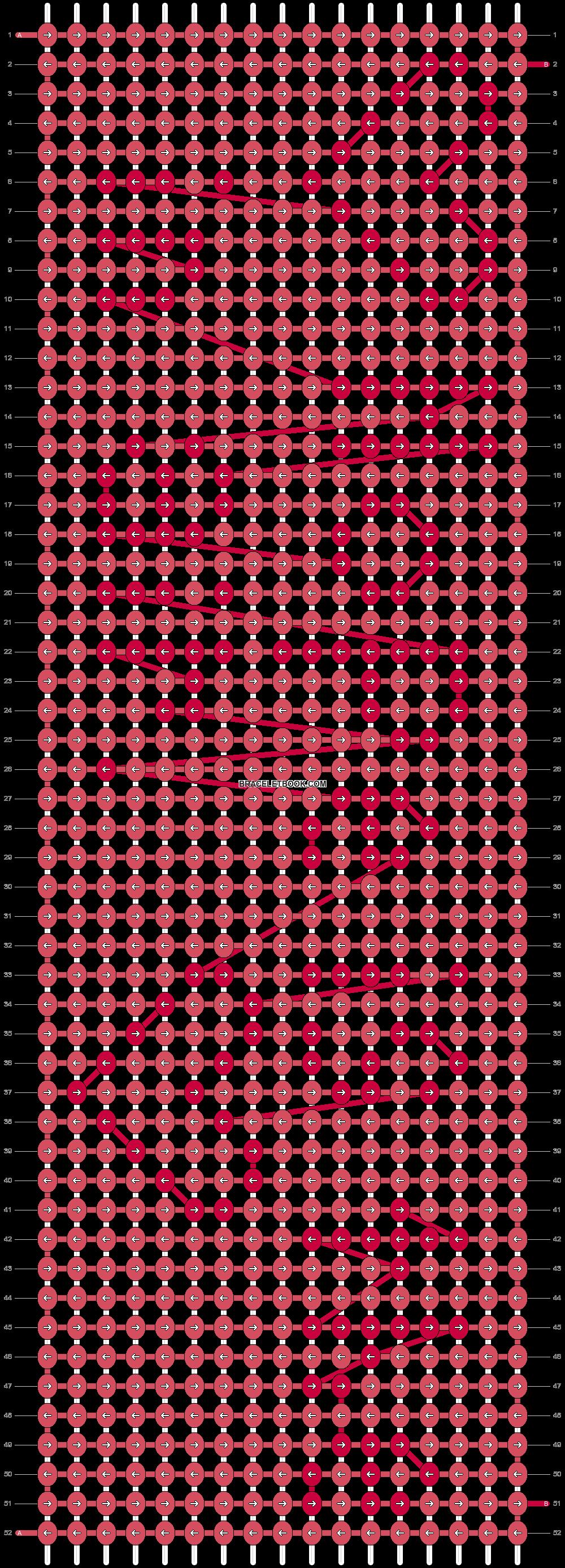 Alpha pattern #3678 pattern
