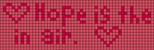 Alpha pattern #3678