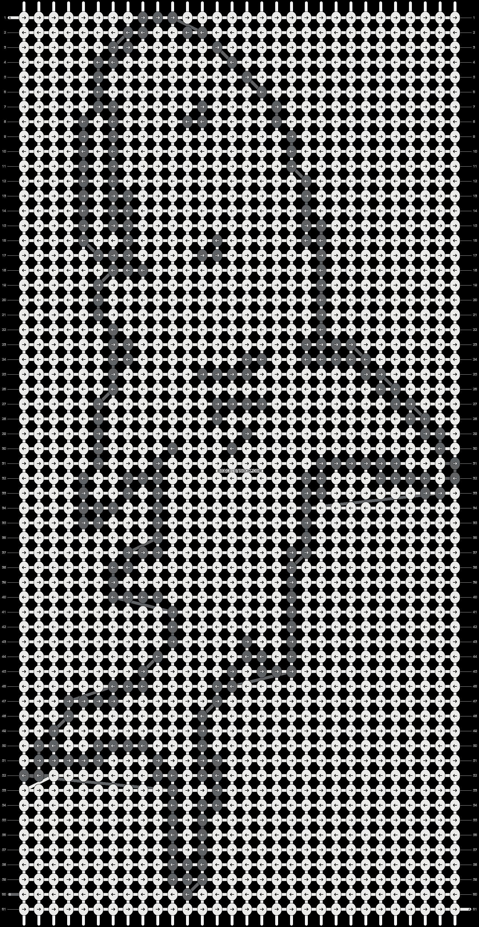 Alpha pattern #3681 pattern