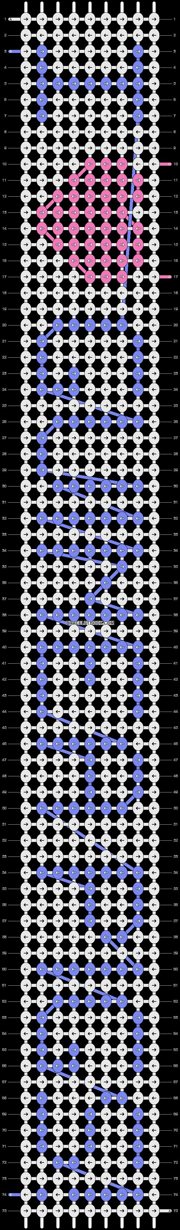 Alpha pattern #3687 pattern
