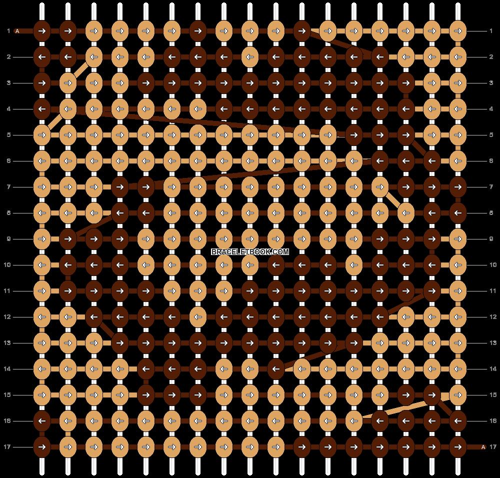 Alpha pattern #3688 pattern