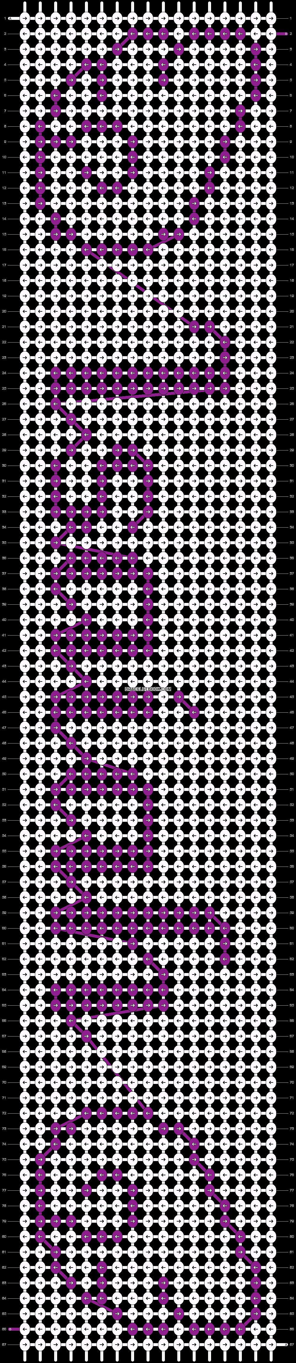 Alpha pattern #3691 pattern