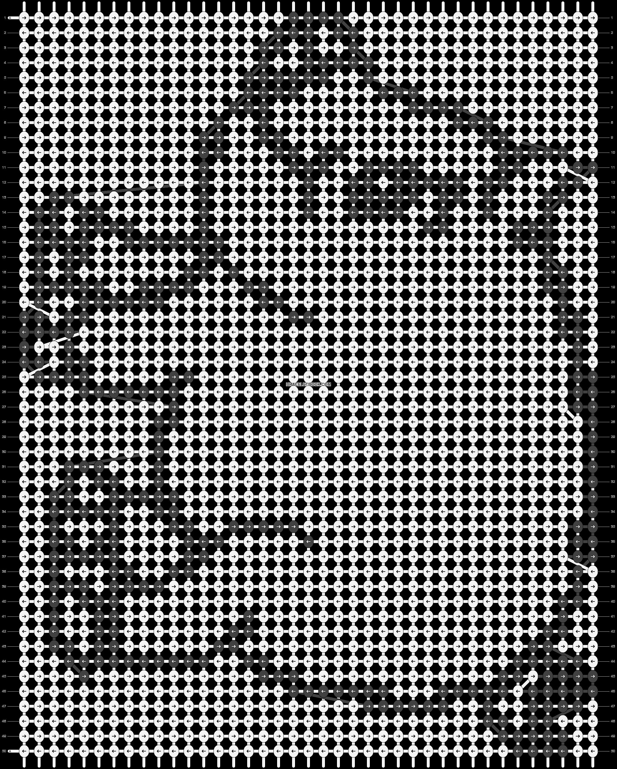 Alpha pattern #3692 pattern