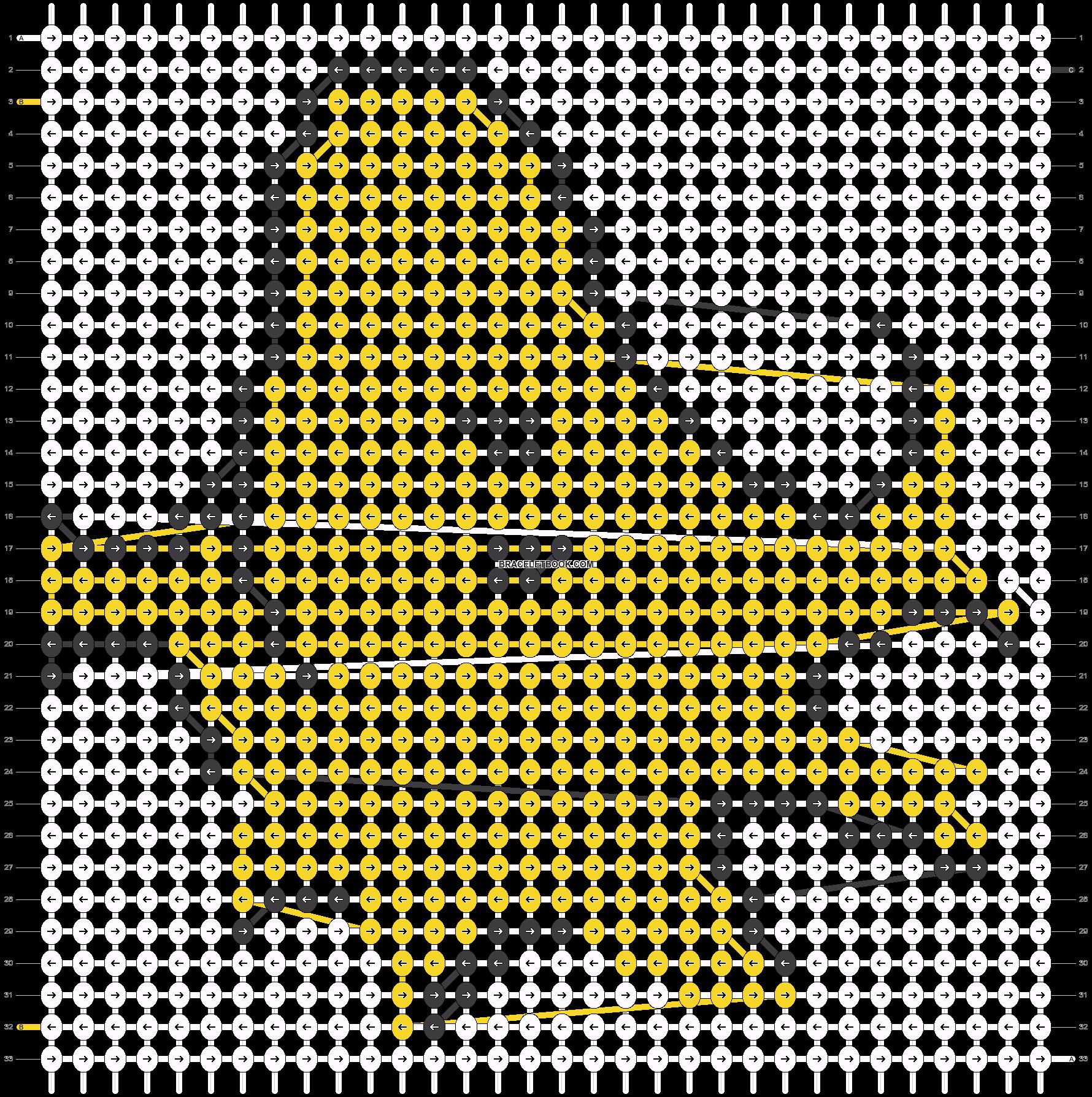 Alpha pattern #3693 pattern