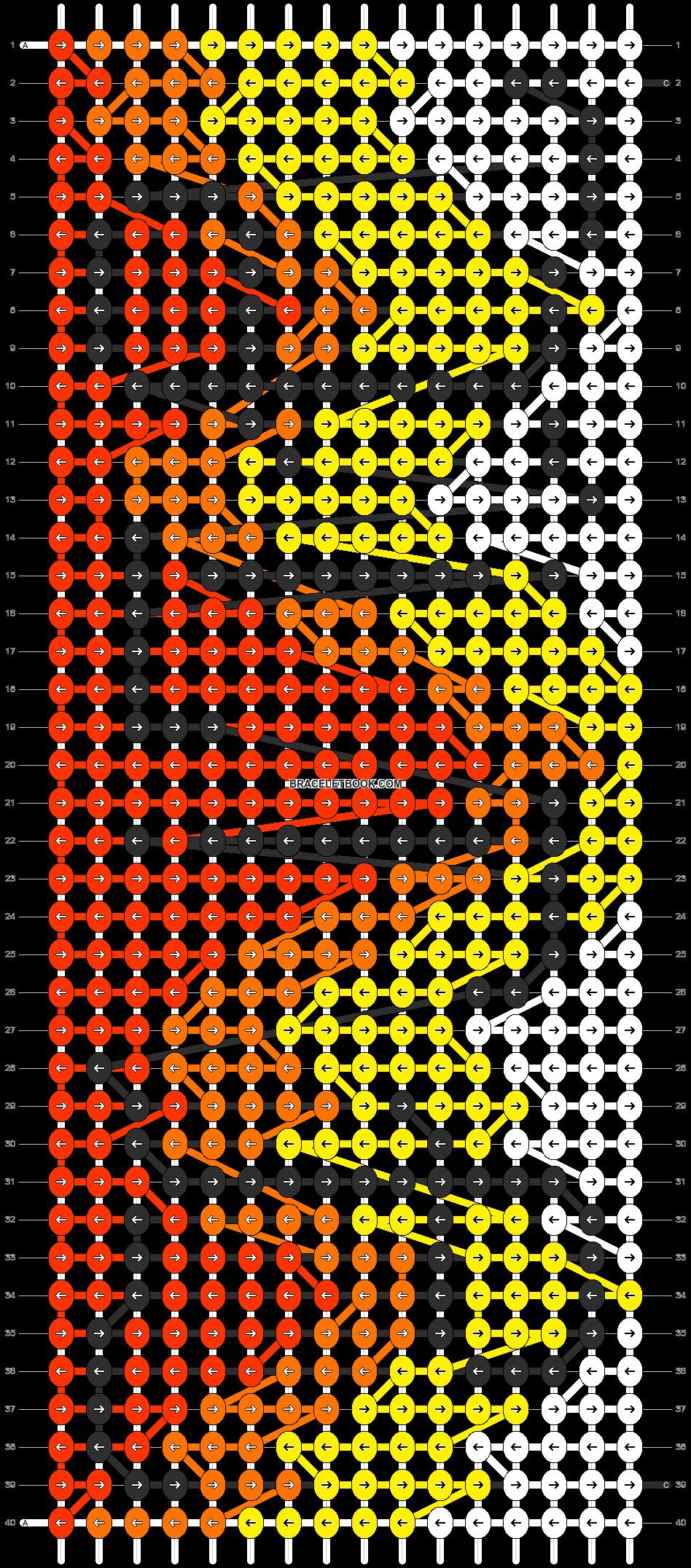 Alpha pattern #3696 pattern