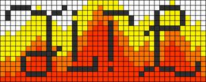 Alpha pattern #3696