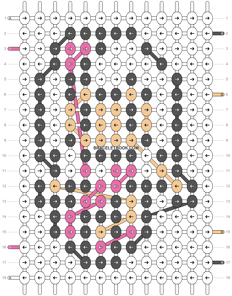 Alpha pattern #3697 pattern