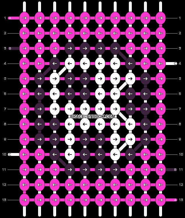 Alpha pattern #3705 pattern
