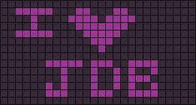 Alpha pattern #3707