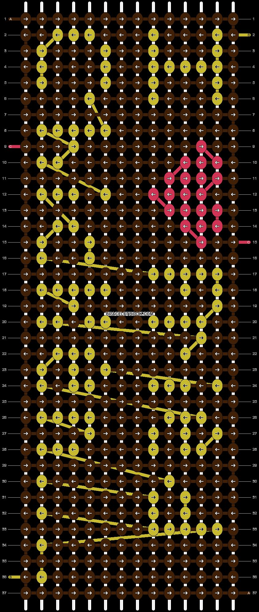 Alpha pattern #3713 pattern