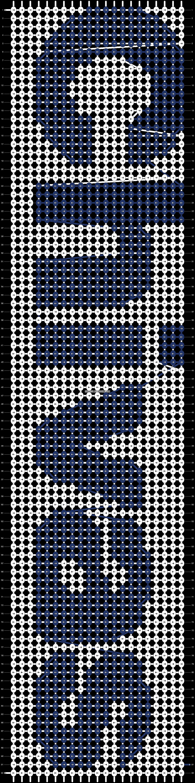 Alpha pattern #3717 pattern