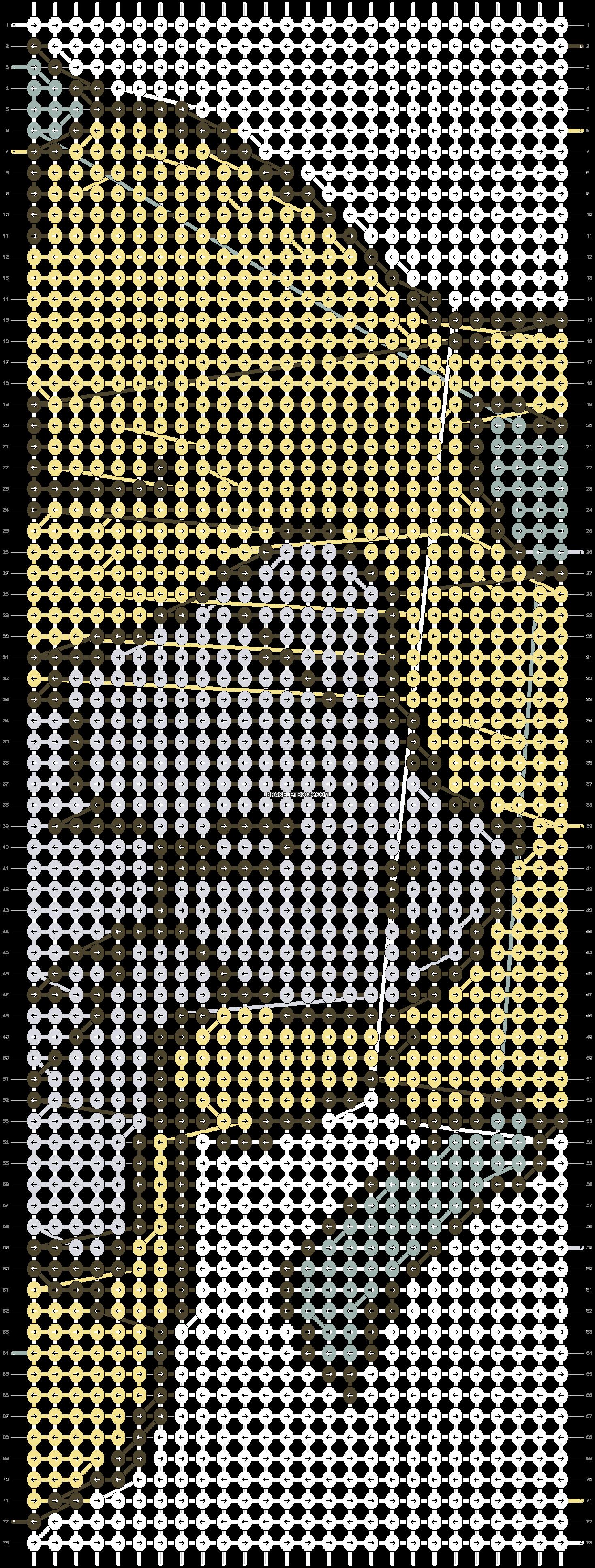Alpha pattern #3727 pattern