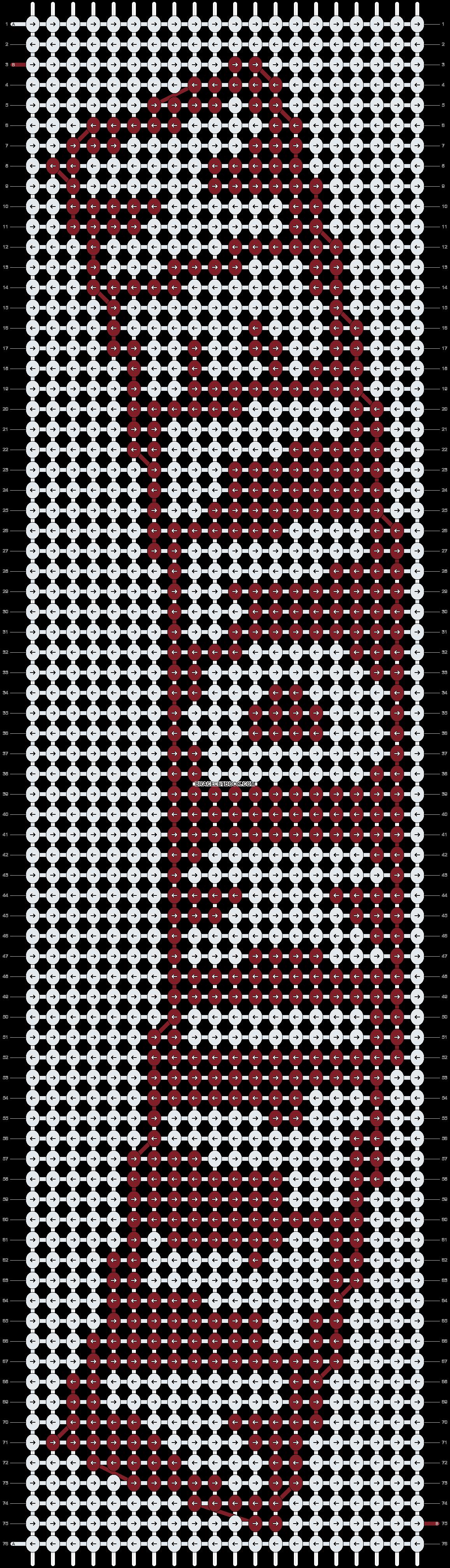 Alpha pattern #3733 pattern