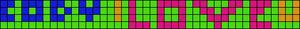 Alpha pattern #3734