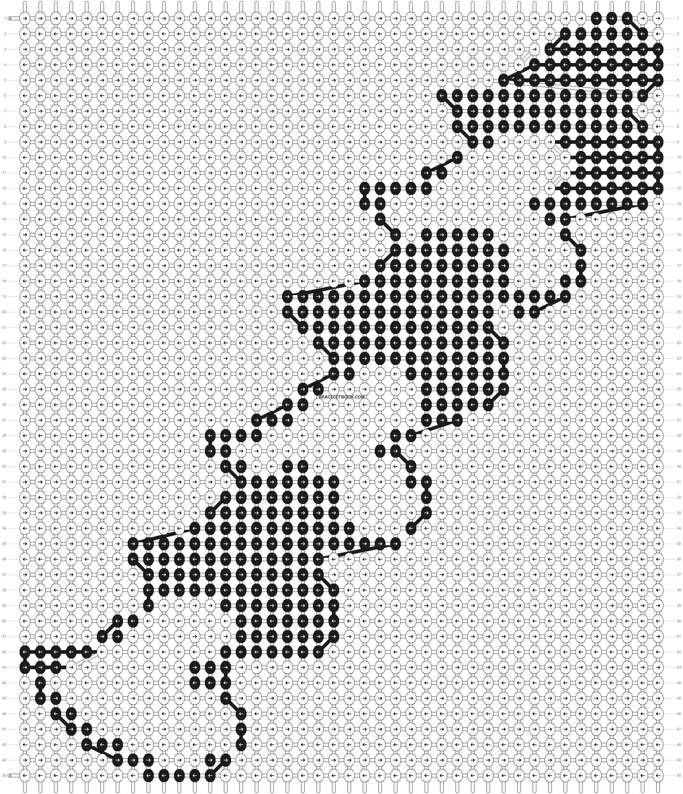 Alpha pattern #3737 pattern