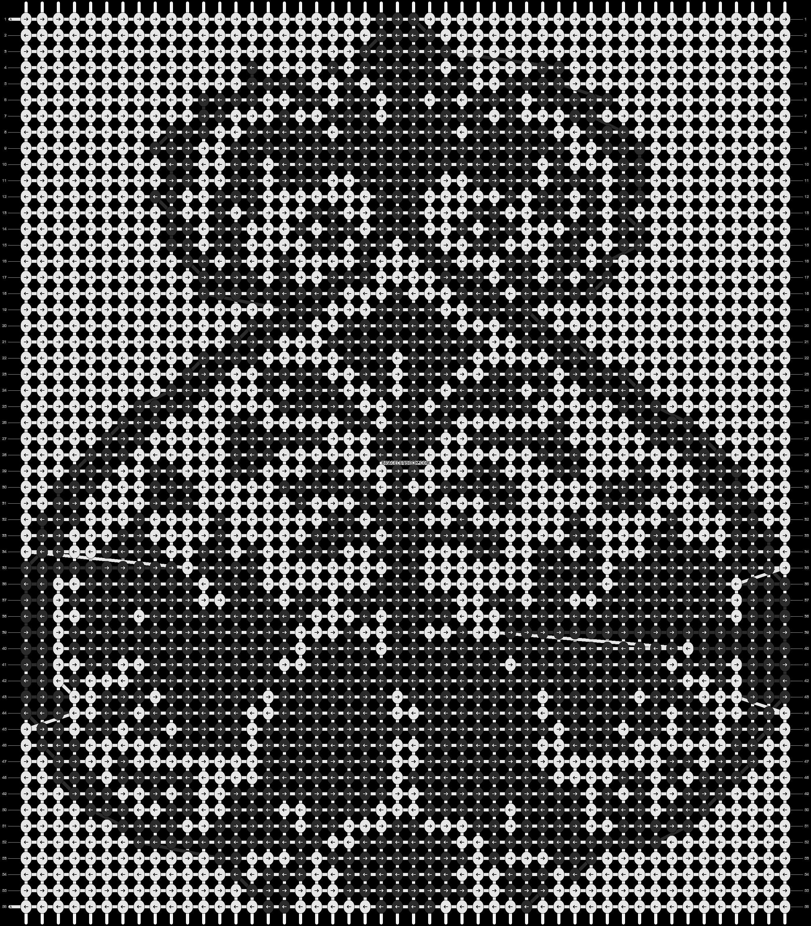 Alpha pattern #3747 pattern