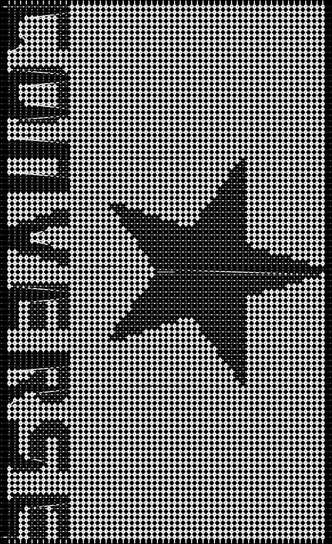 Alpha pattern #3749 pattern