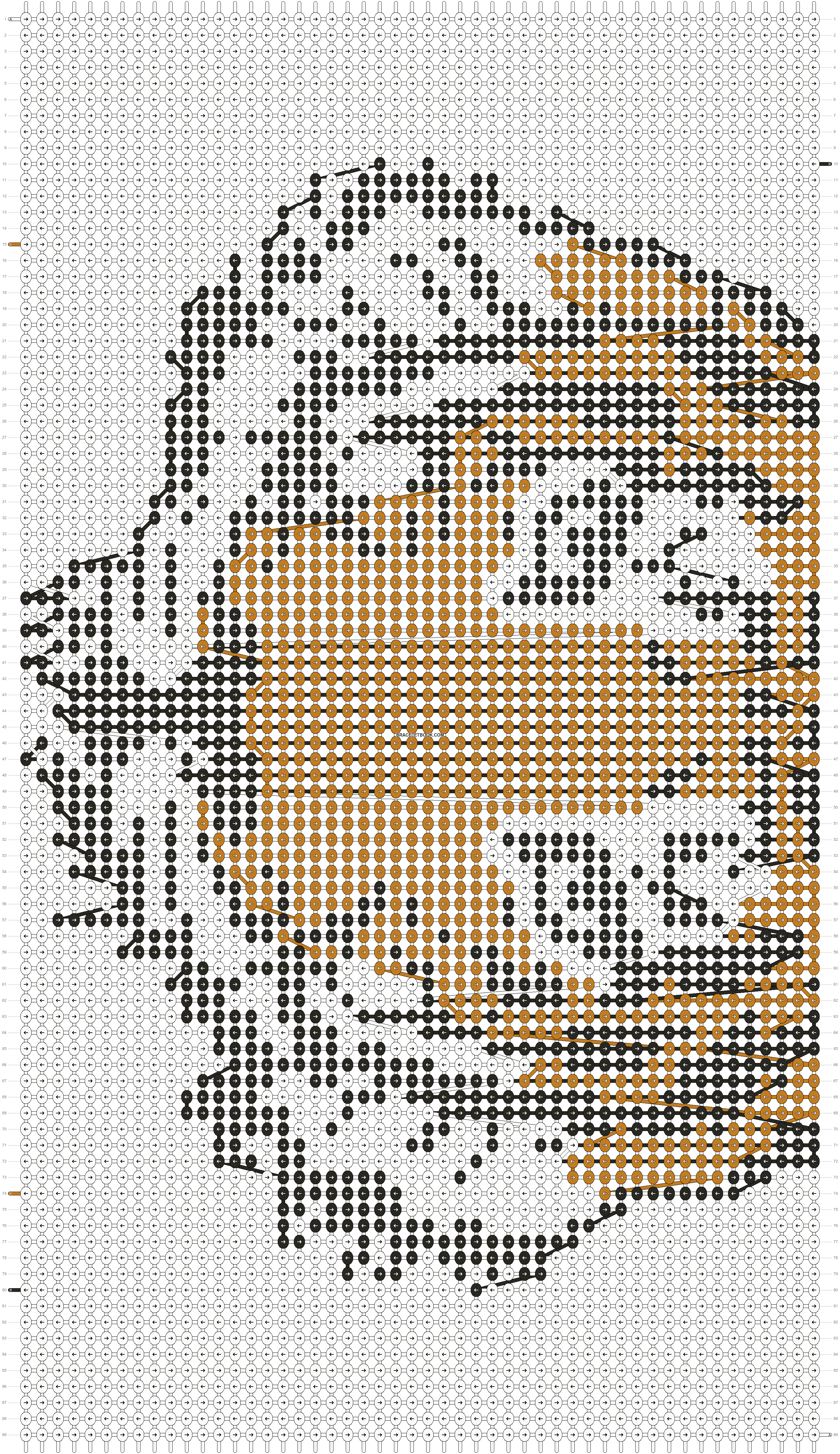Alpha pattern #3752 pattern