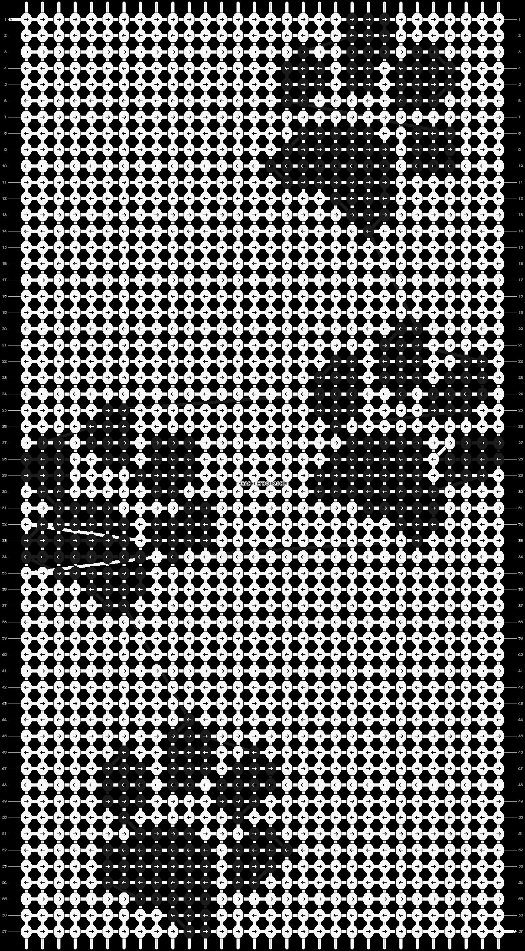 Alpha pattern #3754 pattern