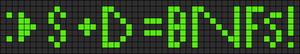 Alpha pattern #3755